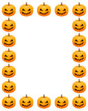 Halloween photo frame Stock Photography