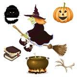 Halloween-pictogram Stock Afbeelding