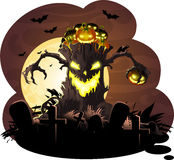 Halloween. The picture drawn to Halloween vector illustration