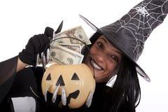 halloween pieniądze Obraz Royalty Free