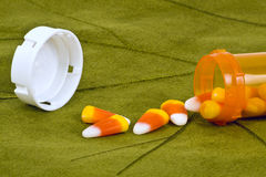 Halloween pills. Stock Photos