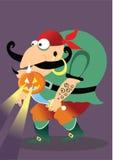 Halloween pirate Stock Photography