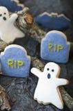 Halloween-Plätzchen stockbild