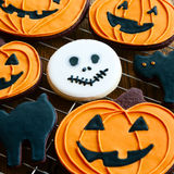 Halloween-Plätzchen Lizenzfreie Stockfotos