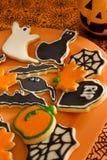 Halloween-Plätzchen Lizenzfreies Stockbild