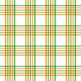 Halloween Plaid. Background illustration of orange brown and green plaid pattern Stock Image
