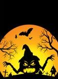 halloween plakat Fotografia Stock
