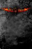 Halloween plakat ciemno Obrazy Royalty Free