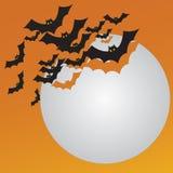 halloween pocztówka Zdjęcia Royalty Free