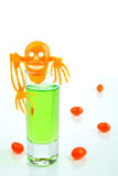 Halloween poison shot Stock Image
