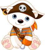 Halloween Polar Bear Royalty Free Stock Photography