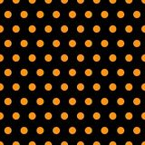 Halloween Polka Dots. A background pattern of polka dots for Halloween Royalty Free Stock Photo