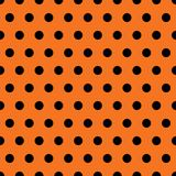 Halloween Polka Dots. A background pattern of polka dots for Halloween Royalty Free Stock Photography