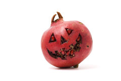 Halloween pomegranate Royalty Free Stock Images