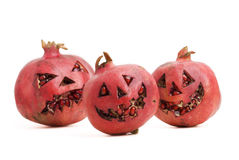 Halloween pomegranate Royalty Free Stock Image