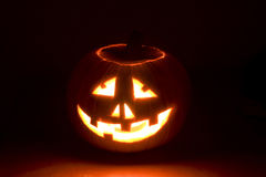 Halloween pompoen royalty-vrije stock foto's