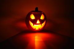 Halloween-pompoen. Royalty-vrije Stock Foto's