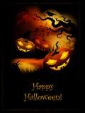 Halloween-Pompoen Stock Afbeelding
