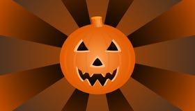 Halloween-pompoen royalty-vrije illustratie