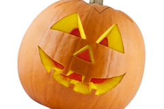 Halloween-Pompoen 02 stock foto