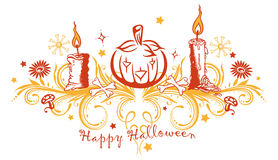 Halloween, pompoen Royalty-vrije Stock Fotografie