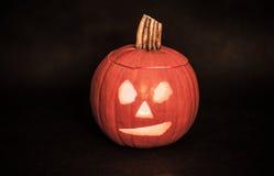 Halloween, pompoen Stock Afbeeldingen