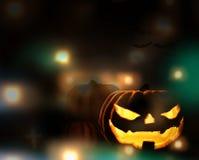Halloween pompoen 3d Halloween stock illustratie