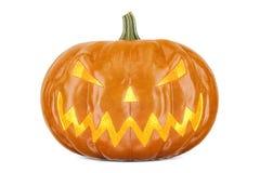 Halloween-Pompoen, het 3D teruggeven Royalty-vrije Stock Foto's