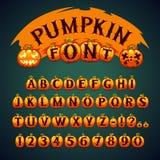 Halloween-Pompoendoopvont Royalty-vrije Stock Foto
