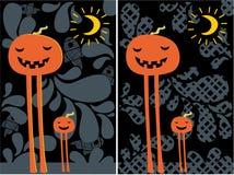 Halloween-pompoenen. Royalty-vrije Stock Fotografie