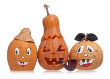 Halloween-pompoenen royalty-vrije stock fotografie