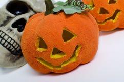 Halloween-pompoenen Royalty-vrije Stock Foto's