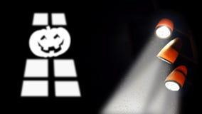 Halloween-pompoenen Stock Afbeelding