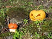 Halloween-pompoenen Royalty-vrije Stock Afbeelding