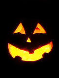Halloween-pompoengezicht Royalty-vrije Stock Foto's