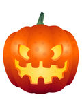 Halloween-Pompoengezicht 002 stock afbeelding