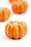Halloween-pompoensuikergoed Stock Afbeeldingen