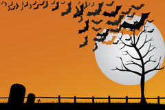 Halloween Postcard Royalty Free Stock Images