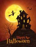 Halloween postcard Stock Images