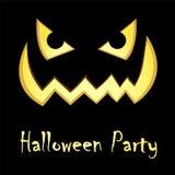 Halloween postcard Royalty Free Stock Image