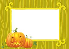 Halloween postcard.Vector Royalty Free Stock Photo