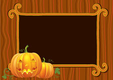 Halloween postcard.Vector Royalty Free Stock Photos