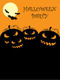 Halloween poster Stock Photos