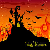 Halloween poster Royalty Free Stock Image