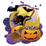 Halloween Poster Royalty Free Stock Images