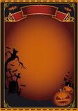Halloween poster Royalty Free Stock Photos