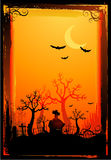Halloween poster background Royalty Free Stock Photos