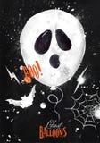 Halloween poster balloon