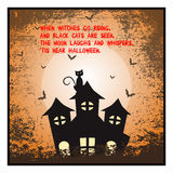 Halloween poster Stock Images