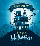 Halloween poster Stock Photography